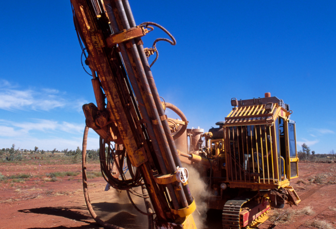 Issue 2: Drilling at Sandstone